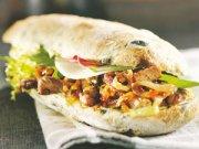 Sandwiches chauds au pesto
