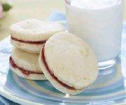 Sandwiches de biscuits sablés au citron