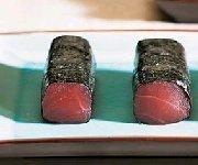 Sashimis de thon au nori