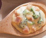 Sauce au fromage et au jambon