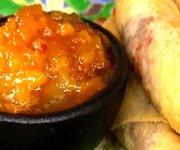 Sauce aux abricots et aux prunes