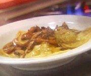 Sauce aux champignons pour ravioli