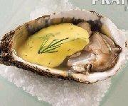 Sauce crémeuse au safran pour huîtres