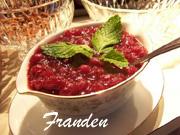 Sauce aux canneberges (Franden)