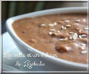 Sauce sambal au sésame pour fondue