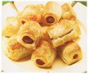 Saucisses en pâte (Pol Martin)
