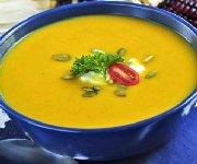 Soupe à la courge musquée et au gingembre