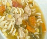 Soupe à la dinde et aux légumes à l'ancienne