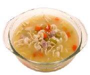 Soupe au poulet campagnarde