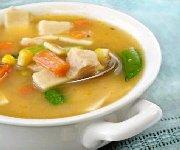 Soupe au poulet et aux légumes 3