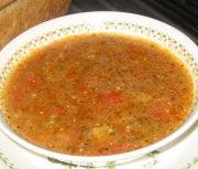 Soupe à l'aubergine