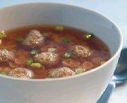 Soupe aux boulettes de boeuf