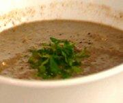 Soupe aux champignons et au tofu velouté de Janella