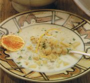 Soupe aux palourdes de la Nouvelle-Angleterre
