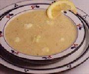 Soupe aux pommes et au chou-fleur