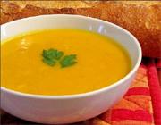 Soupe carottes, fenouil et riz