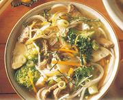 Soupe chinoise aux vermicelles