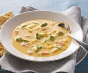 Soupe de brocoli au VELVEETA et au jambon