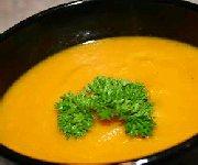Soupe de carottes au cari