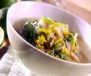Soupe de chou asiatique