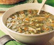 Soupe de dinde aux châtaignes