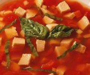 Soupe de dindon à la tomate