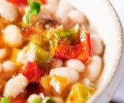 Soupe de haricots blancs et de chorizo