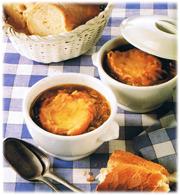 Soupe à l'oignon classique