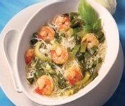 Soupe Tonkinoise aux crevettes et au Pak-Choï