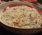 Spaghetti aux fruits de mer 1
