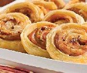 Spirales au jambon, gruyère et tomates séchées