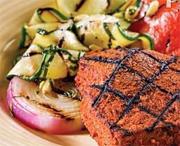 Steaks de thon chimichurri