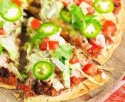 Taco Pizza Recette
