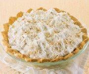 Tarte à la crème de noix de coco 2
