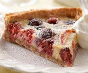 Tarte à la crème pâtissière et aux fruits estivaux