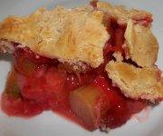 Tarte aux fraises et à la rhubarbe 6