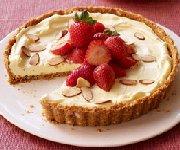 Tarte aux fraises vanille-amande