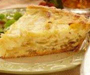 Tarte aux oignons et au fromage
