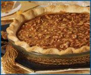 Tarte dorée aux noix de grenoble