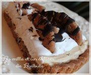 Tarte facile au beurre d'arachide et aux brisures de chocolat
