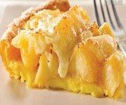 Tarte pommes-cheddar sur pâte soufflée