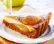 Tartelette à la poire et à la vanille