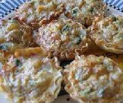 Tartelettes aux champignons et au bleu