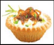 Tartelettes aux oignons caramélisés