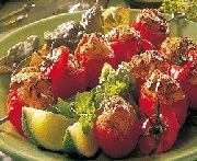 Tomates cerises farcies à la tikka