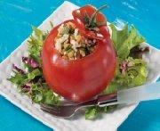 Tomates farcies aux lentilles