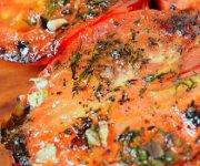 Tomates grillées à l'aneth