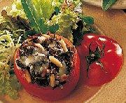 Tomates grillées farcies au fromage bleu