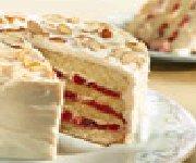Torte aux cerises et chocolat blanc