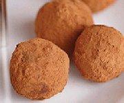 Truffes à la crème au chocolat